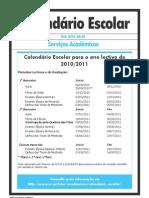 Calendário Escolar (FCT_DSA2010AG-4)