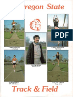 84 Oregon State Track Field Media Guide