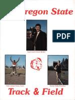 85 Oregon State Track & Field Media Guide