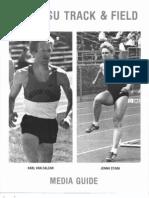 1988 OSU Track &  Field Media Guide