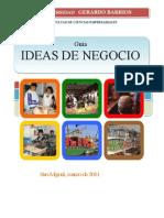 GUIA PARA LA GENERACIÓN DE LA IDEA DE NEGOCIO