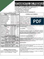 Reporte 38 Guaros-cocodrilos Juego 3 Bqto