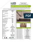 EarthLED DirectLED™ 4 Foot Tube Lamp Dimmable
