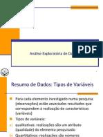 Métodos Quantitativos Aplicados I - AED