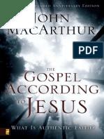 The Gospel According to Jesus
