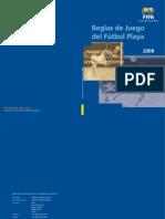 Reglas Futbol Playa