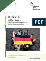 Muslim Life in Germany Report