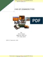 Branding of Commodities