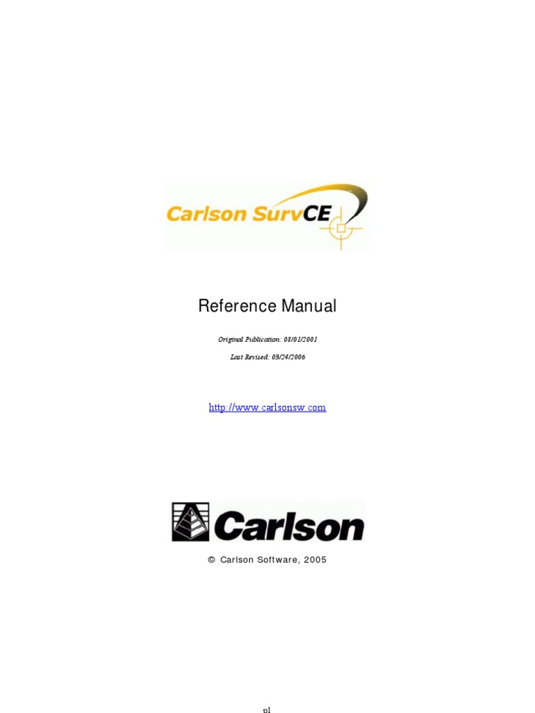 Carlson SurvCE 1 61 Manual | Microsoft Windows | Angle