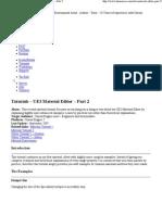 UDK Tutorials - 226 UE3 Material -226 Part 2