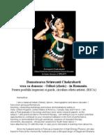 Dansatoarea Srinwanti Chakrabarti