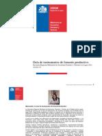 Guía de Instrumentos de Fomento Productivo - Los Lagos