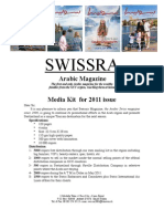 Swissra Media Kit 2011