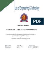 CLMS Final Report