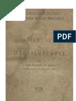 Alvaro Placeres de Araujo - Manual de Dactiloscopia