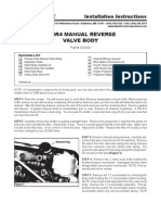 Ati Manual Reverse Valve Body