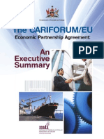 The CF-EC - Economic Partnership Agreement (EPA) - An Executive Summary [MTI Trinidad & Tobago]