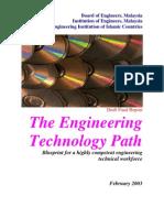 Engineering Tech Path