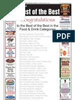 Best of the Best winners