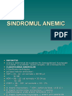 Sindromul Anemic Power Point