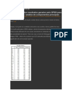 análise fatorial - SPSS Análise - Blog