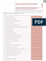 Cuestionario Salamanca de Trastornos de La Personal Id Ad
