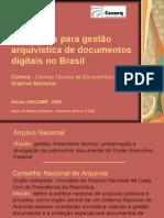 Requisitos para gestão arquivística de documentos digitais no Brasil