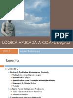 Aula06- LogicaDePredicados