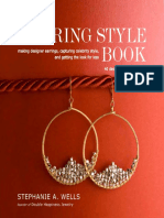 Betty Earrings From the Earring Style Book by Stephanie Wells