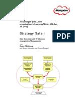 Mintzberg - Strategy Safari