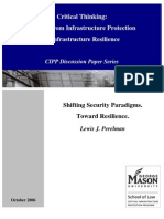 Shifting Security Paradigms - Toward Resilience