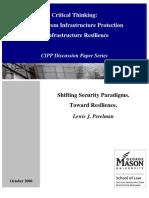 Shifting Security Paradigms - Toward Resilience