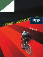 Cornell University Press Fall 2011 Seasonal Catalog