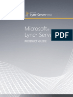 LyncServer2010 Product Guide FINAL 01262011