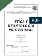 Etica y Deontologia Preofesional