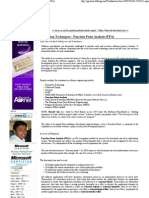 Estimation Techniques _ Function Point Analysis