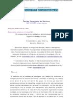 El outsourcing de los sistemas de información en las organizaciones públicas