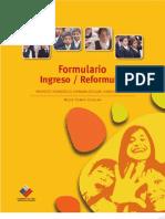 Formulario proyecto pedagogico