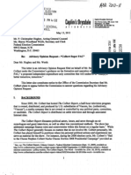 Stephen Colbert's Federal Election Commission Advisory Opinion Request