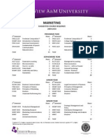 MARKETING Degree Sequence 2009-10