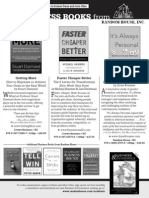 2011 Academy of Management (AOM) Conference Program Ad (for Random House, Inc.)