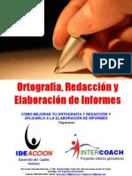 PROGRAMA ORTOGRAFÍA, REDACCION Y ELABORACIÓN DE INFORMES