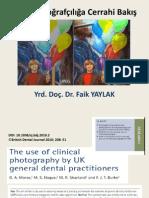 Klinik Fotoğrafçılığa Cerrahi Bakış