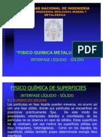 INTERFASE SOLIDO-LIQUIDO