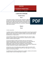 Zakon o Tajnosti Podataka_140411
