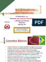 Urgências e Emergências no Doente Falciforme