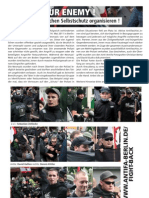 Antifaschistischen Selbstschutz organisieren