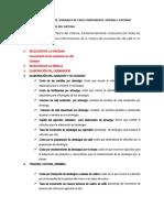 IDENTIFICACIÓN DE  VARIABLES DE CADA COMPONENTE  INTERNA Y EXTERNO