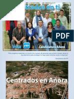Programa Electoral 2011 - Partido Popular de Añora