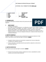 Plan de Tutoria 2011-3013